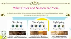 "Why colors look great on one person and not so great on another is a  person's unique skin tone. Some colors (like pink) can flatter almost  anyone because they come in many shades. Others (like catawba) are very  specific to certain skin tones.  So let's explore skin tones a little deeper using the ""seasons"" scale and  guide you on the best wardrobe colors for you based on your hair, eye  color, and skin tone.  Summer and winter are the cool skin tones, while spring and autumn are the  warm ones. Again, this scale is not about how pale or dark you are. This  scale is based on your undertones and establishes if you are a warm type or  a cool type.  Don't be imprisoned by your color palette..."