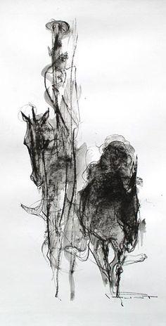 Pajot - Don Quichotte, chevalier errant.