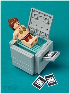 "you get this if your a ""lego maniac"" :)"