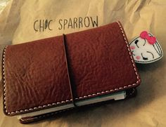 The newest addition to my Chic Sparrow collection........Creme Brûlée Pocket size.