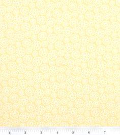 Keepsake Calico Fabric Bright Daisy YellowKeepsake Calico Fabric Bright Daisy Yellow,