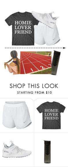 """work work don't stop 💯"" by sydthekyd01 on Polyvore featuring NIKE"