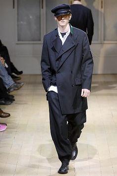 Yohji Yamamoto Fall 2008 Menswear Fashion Show