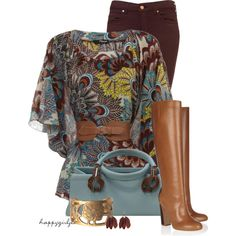 """Peacock"" by happygirljlc on Polyvore"