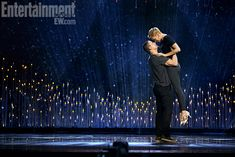 A lovely photo of Charlize Theron and Channing Tatum rehearsing their dance number for the Oscars // Art Streiber for Entertainment Weekly