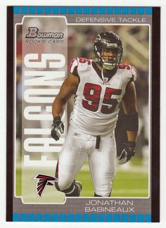 Jonathan Babineaux RC   245 - 2005 Bowman Football NFL Rookie 4df5e2a1c