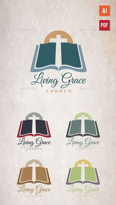 Church Logo Template Vector AI. Download here…