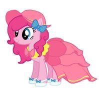 Pinkie's New Dress by MLPinkiePie