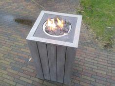 Vuurtafel   ≥ Exclusieve vuurtafel terrasverwarmer op gas - Terrasverwarming…