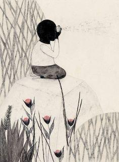 Noir Grand by Daniela Tieni, via Behance