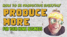 How to be Productive Everyday - How to be Productive in any Business Taking Pictures, Productivity, My Love, Business, Music, Youtube, Musica, Musik, Muziek