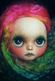 """Blythe- Frosty Frock Custom""""Princess"""""""