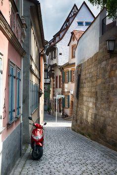 A back road in Bamberg, Germany. #richkolasa #photography