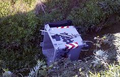 Ad Arezzo i bidoni della spazzatura sono sul letto dei fiumi, come gli aironi…