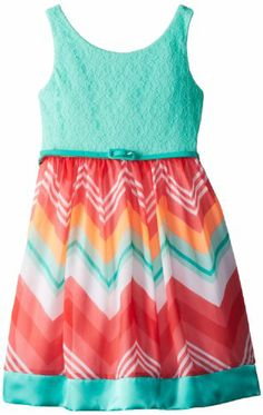 Rare Editions Girls 7-16 Lace Bodice Dress with Printed Woven Skirt, Mint/Coral, 16 Rare Editions,http://www.amazon.com/dp/B00GD1YUNS/ref=cm_sw_r_pi_dp_rMfxtb1ABZSDMVR4