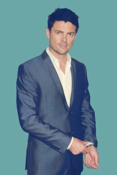 Karl Urban... He rocks, but there's something about the well fitted suit that makes this better.