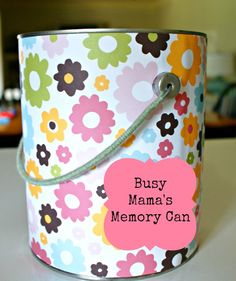 Busy Mama's Memory Can