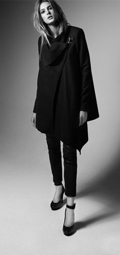 beautiful asymmetric silhouette