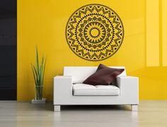 Wall Room Decor Art Vinyl Sticker Mural Decal Tribal Mandala Ornament Big AS2921 #3M