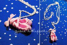 handmade necklace dance shoes    http://sainsgioie.blogspot.it  http://www.facebook.com/GioieLillipuziane