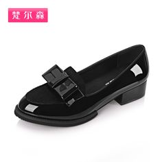 Special promotion the new spring 2014 female flats, bowknot adornment fashion professional leather shoes size 35 39-inFlats from Shoes on Al...