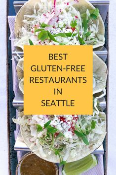 GRAB the list of the best restaurants and cafe's in Seattle. And, read about the best food tours. | https://www.chewthisup.com/best-gluten-free-restaurants-in-seattle/ | Seattle travel / seattle travel guide / seattle travel things to do / Seattle restaurants / seattle restaurants best / gluten free restaurants / gluten free restaurant guide / Gluten Free Travel / travel guides / gluten free restaurants / gluten free guides / travel gluten free / restaurant lists / gluten free travel guides…