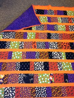 Steph's Sew Sew Life: Bode's Super Duper Special Halloween Quilt - Pattern