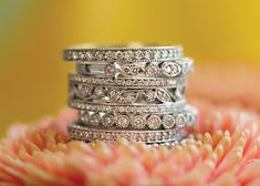 Should anniversary rings match the wedding ring or be unique? Which finger should she wear it on? Learn all about these thoughtful anniversary gifts.
