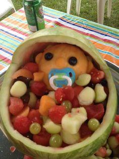 Babyshower Melon Food idea