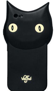 Valfre ヴァルフェー 可愛すぎる クロネコ さん ! iphone6ケース 最新 iphone 6 ケース ブラック キャット シリコン 即納 アイフォン カバー 海外 ブランド   セレクトショップ L'Etoile beaute ( レトワールボーテ ) 代引き可 コンビニ決済可