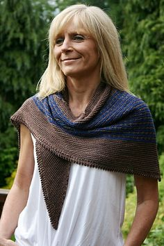 "Ravelry: ""Collinear"" shawl pattern by Paulina Popiolek"