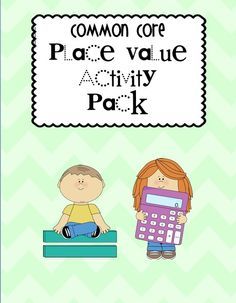 Place Value Activities for First Graders More