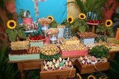 Resultado de imagem para festa junina decoração