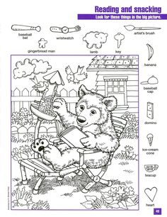 best ideas about Hidden pictures Hidden Object Puzzles, Hidden Picture Puzzles, Hidden Objects, Craft Activities For Kids, Worksheets For Kids, Coloring For Kids, Adult Coloring, Colouring Pages, Coloring Books