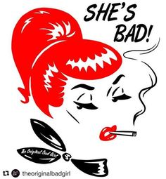 #Repost @theoriginalbadgirl with @repostapp ・・・ • SHE'S BAD • Never mess with a red head! Show everyone who's boss in our latest colab T with @sveta_has available on our website  #shesbad #stripes #illustration #collaboration #vintageinspired  #theoriginalbadgirl #badgirl #vintageinspired #50s #1950s #60s #1960s #pinup #pinupstyle #curves #bombshell #pincurls #vintage #vintagestyle #fashion #ootd #ootdsocialclub #cateye #redlips #vintagemakeup #fashiondesign #sydney #madeinaustralia
