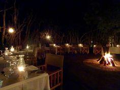 "Dining place or ""Boma"", Kapama Karula"