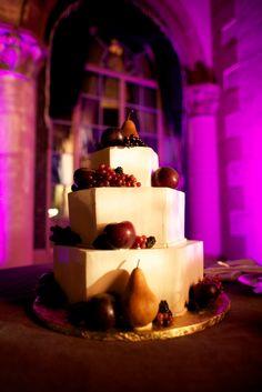 Wedding cake inspired by still life art-  Image Courtesy of: Jensen Larson Photography