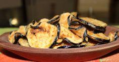 Como fazer chips de berinjela