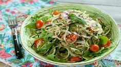 Sweet-and-spicy cucumber noodles will make you forget all about pasta