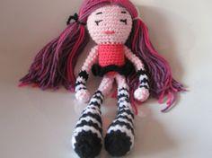 Crochet doll soft stuffed toyby AnnaSHandMD by AnnaSHandMD on Etsy, €25.00