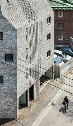 Beyond the Screen mix-use Apartmant in Seoul by OBBA 001