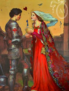 Tristan and Isolde, Mixed media