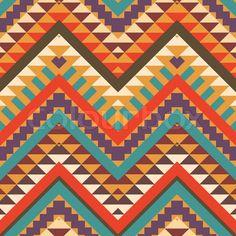 Colorful Aztec Pattern