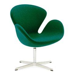 Swan Chair, Copenhagen Hotel, Cashmere Cape, Living Room Lounge, Arne Jacobsen, Egg Chair, Signature Style, Modern Classic, Midnight Blue