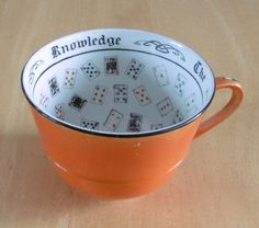 Vintage Booths Silicon China  Cup Of Knowledge