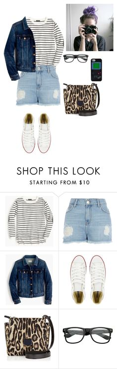 """""""Girl Gone Wild"""" by thaisa-tcs ❤ liked on Polyvore featuring J.Crew, River Island, Converse, Jimmy Choo and Nintendo"""