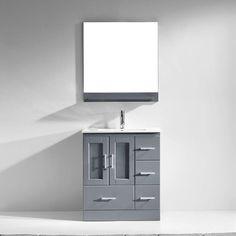 "Found it at Wayfair - Zola 30"" Single Bathroom Vanity Set with Mirror"