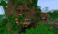 Cliff House in a Jungle Biome - Creative Mode - Minecraft Discussion - Minecraft Forum - Minecraft Forum