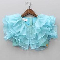 New Saree Blouse Designs, Blouse Designs High Neck, Kids Blouse Designs, Long Dress Design, Baby Dress Design, Kids Frocks Design, Baby Frocks Designs, Girls Dresses Sewing, Dresses Kids Girl