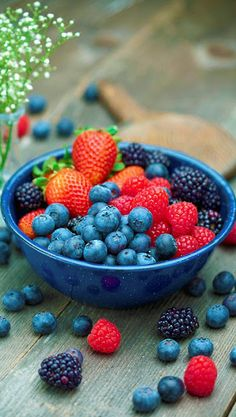 Learn More About Berries Benefits